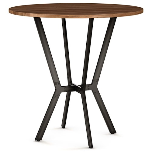 Amisco Customizable Dining Norcross Bar Table with 42