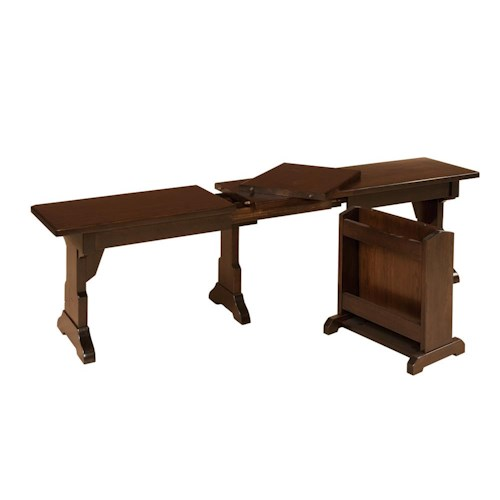 Morris Home Furnishings Americana Bench with storage