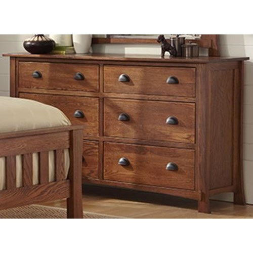 Morris Home Furnishings Breckenridge Dresser