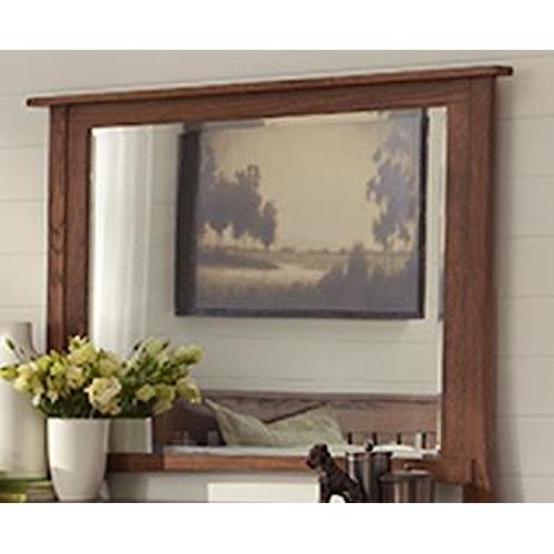 Morris Home Furnishings Breckenridge Mirror