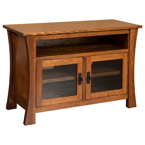 Morris Home Furnishings Brigham Brigham Small TV Cabinet with Adjustable Shelves