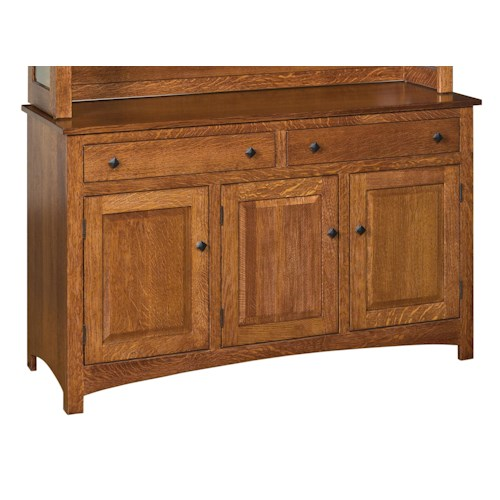 Morris Home Furnishings Classic Dining Buffet with 2 Drawers and 3 Doors