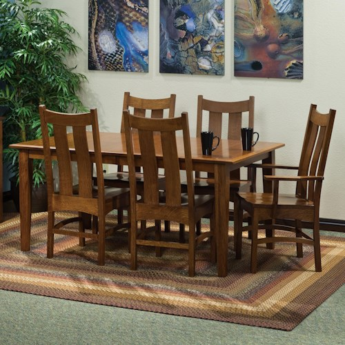 Morris Home Furnishings Classic 7 pc. 42x66