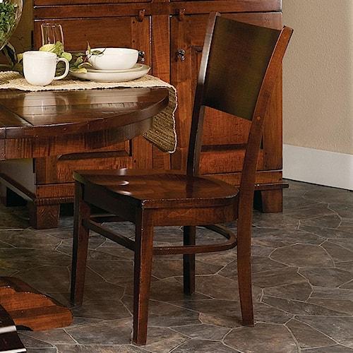 Morris Home Furnishings Wellington Americana Dining Side Chair