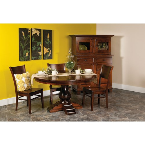 Morris Home Furnishings Wellington 5 pc. 60