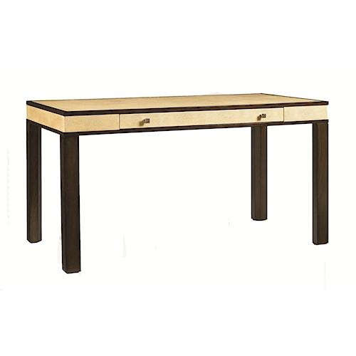 Aquarius Aquarius Messina Desk with Ivory Shagreen Top