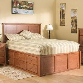 One Side Features Standard Six Drawer Pedestal; Other Features Standard Three Drawer Pedestal