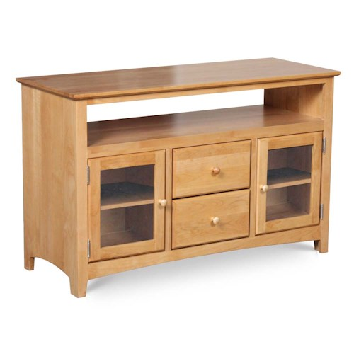 Archbold Furniture Alder Shaker 48