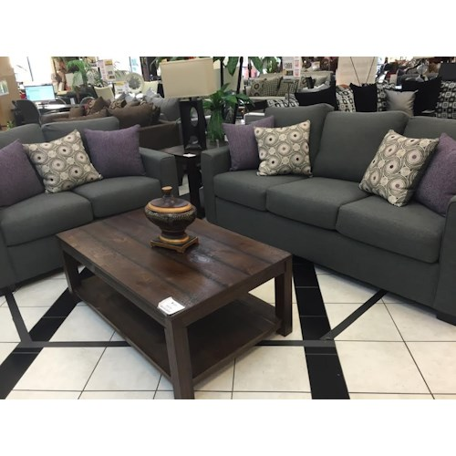 Del Sol Exclusive Ally Ally Sofa and love seat