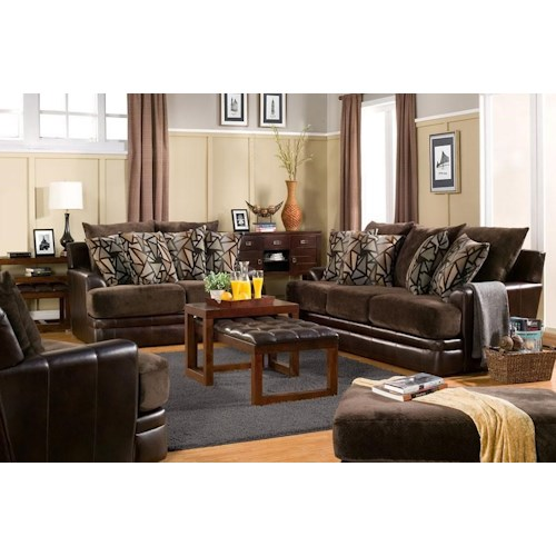 Del Sol Exclusive Balboa Collection Sofa and loveseat set