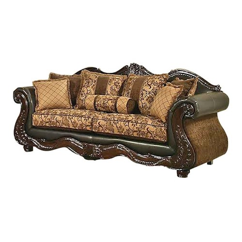 Del Sol Exclusive Eagle Eagle Traditional Sofa