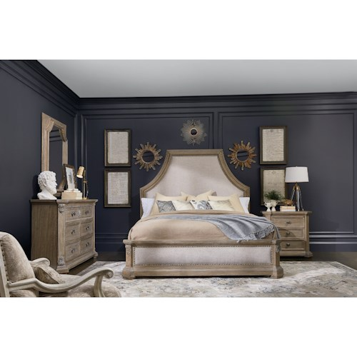 A.R.T. Furniture Inc Arch Salvage King Bedroom Group
