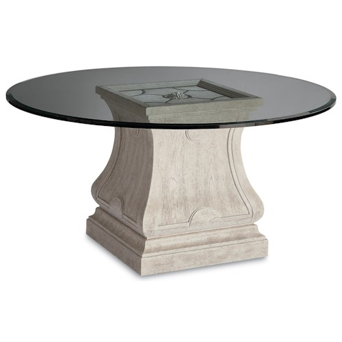 A.R.T. Furniture Inc Arch Salvage Leoni Round Dining Table with 60