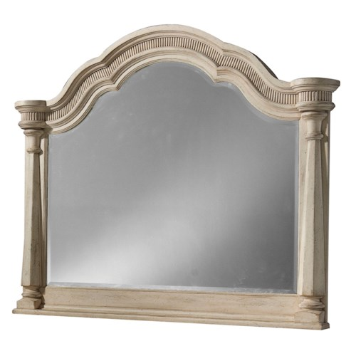 Belfort Signature Farrington Arched Landscape Starter Mirror
