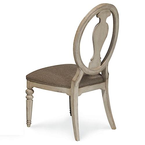 A.R.T. Furniture Inc Belmar II Oval Splat Back Side Chair