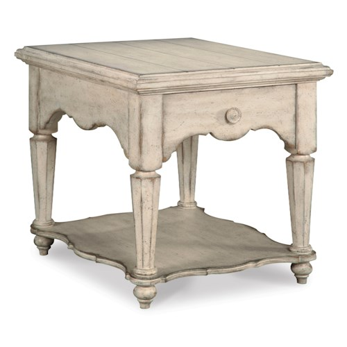 Belfort Signature Farrington Drawer End Table