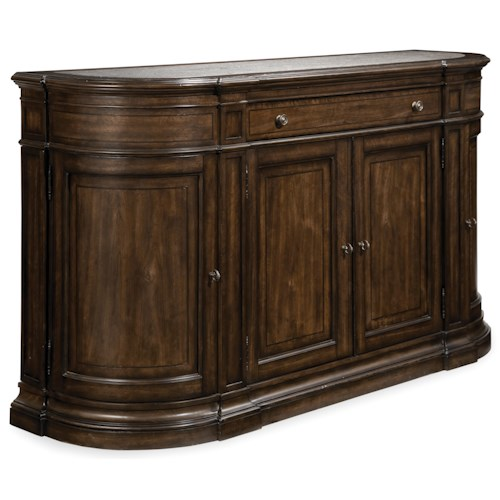 A.R.T. Furniture Inc Chateaux Buffet with Acid-Washed Blue Granite Top