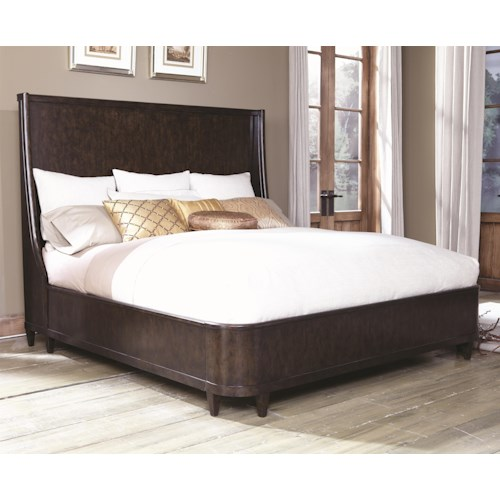 A.R.T. Furniture Inc Classics Queen Transitional Shelter Bed