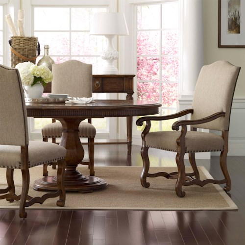 A.R.T. Furniture Inc Collection One 5-Piece Keton Round Dining Table Set