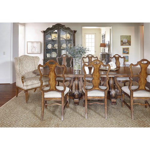 A.R.T. Furniture Inc Continental Formal Dining Room Group