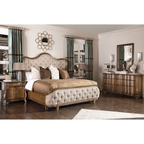 A.R.T. Furniture Inc Continental King Bedroom Group