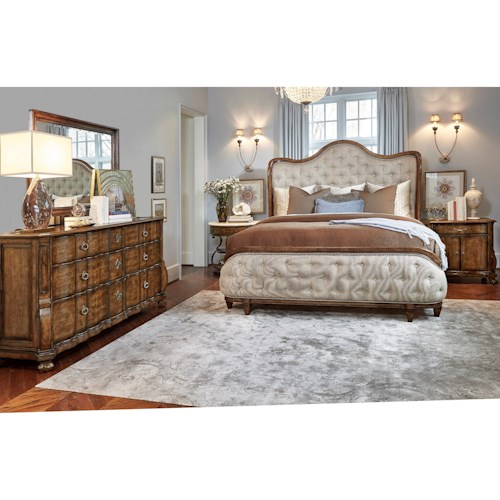 A.R.T. Furniture Inc Continental California King Bedroom Group
