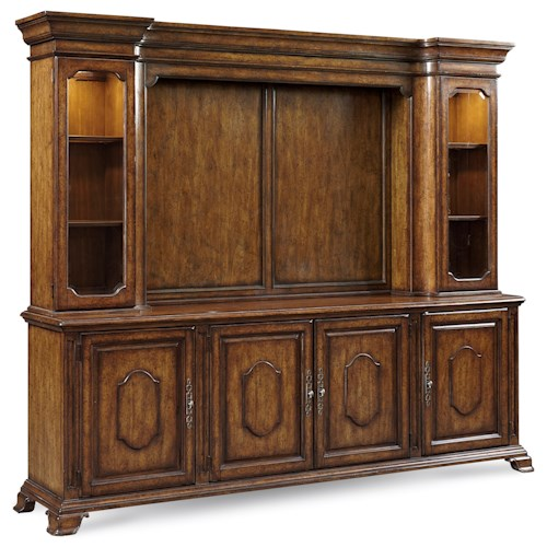 A.R.T. Furniture Inc Continental Traditional Entertainment Console & Deck