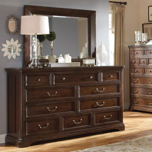 A.R.T. Furniture Inc Egerton Dresser & Landscape Mirror