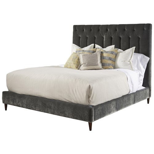 Belfort Signature Urban Treasures King 14th and U Upholstered Platform Bed