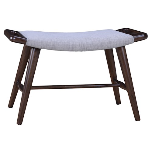 Belfort Signature Urban Treasures Mid-Century Modern 14th and U Bunching Bench