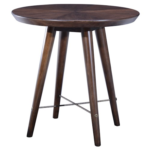 Belfort Signature Urban Treasures 14th and U Round End Table