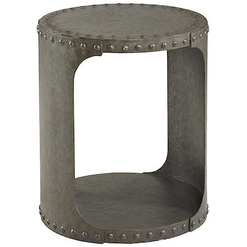 Belfort Signature Urban Treasures Industrial Style Shaw Metal End Table
