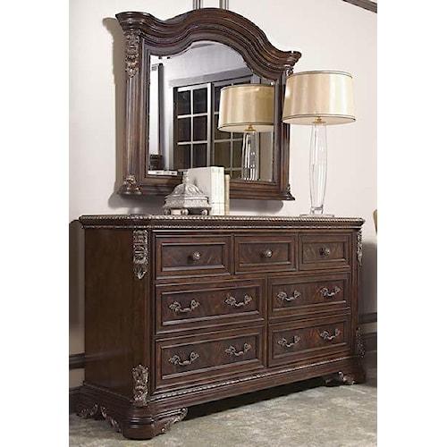 A.R.T. Furniture Inc Gables Dresser & Landscape Mirror