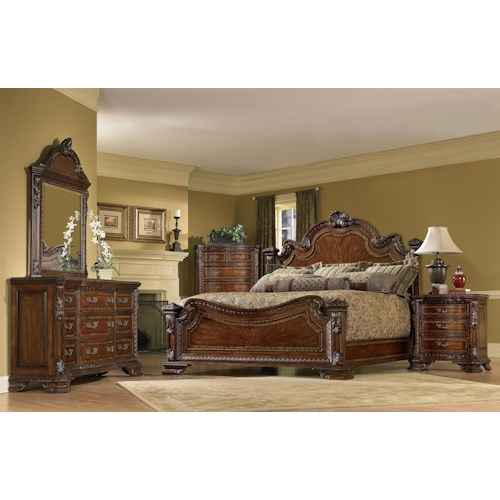 A.R.T. Furniture Inc Old World California King Bedroom Group