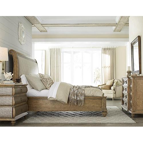 A.R.T. Furniture Inc Pavilion King Bedroom Group