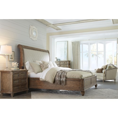 A.R.T. Furniture Inc Pavilion King Bedroom Group