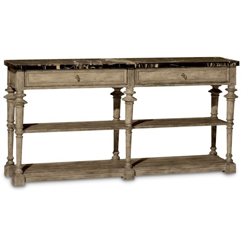 A.R.T. Furniture Inc Pavilion Console Table with Honed Marble Top