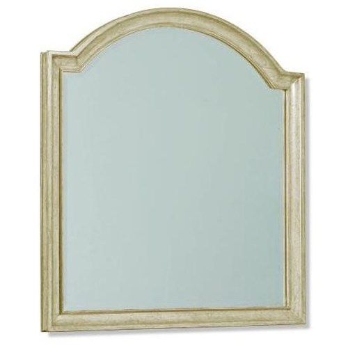 A.R.T. Furniture Inc Provenance Vertical Mirror in Soft Linen Finish