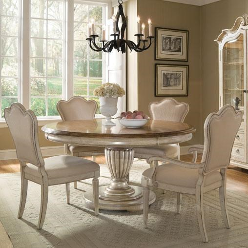 Shown with Upholstered Back Side and Arm Chairs