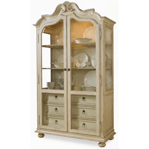 Belfort Signature Sonnet Display Cabinet with Glass Paned Doors