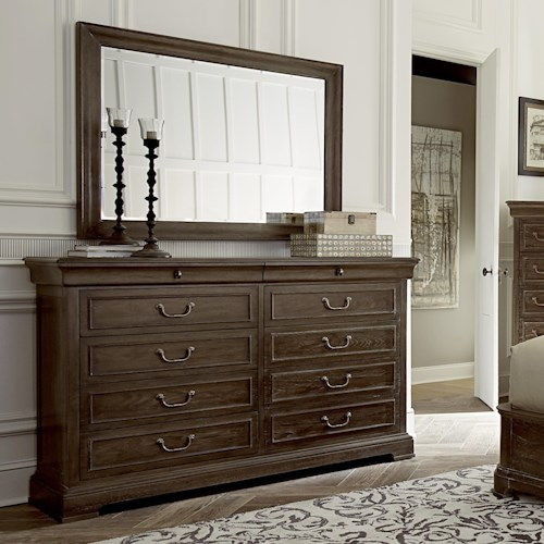 A.R.T. Furniture Inc Saint Germain Dresser & Mirror