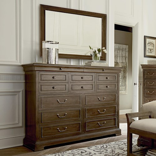 A.R.T. Furniture Inc Saint Germain Large Dresser & Mirror