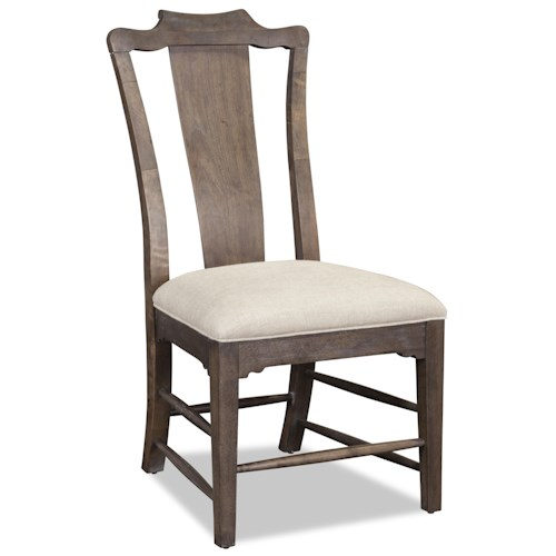 A.R.T. Furniture Inc Saint Germain Side Chair with Splat Back