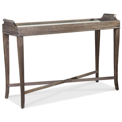 A.R.T. Furniture Inc Saint Germain Console Table with Mirror Top