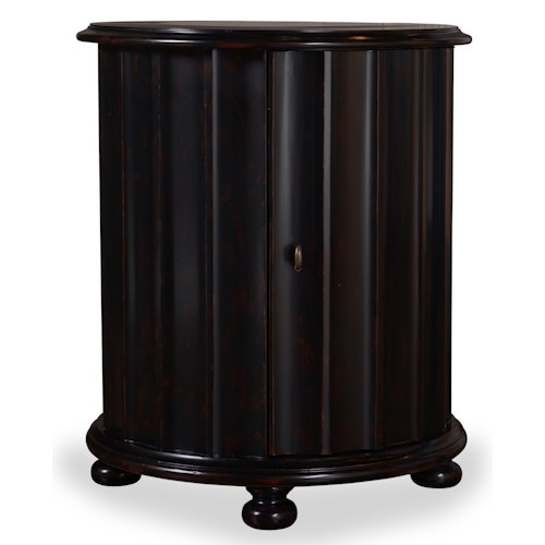 A.R.T. Furniture Inc The Foundry Heathton Drum Table with Concave Shape