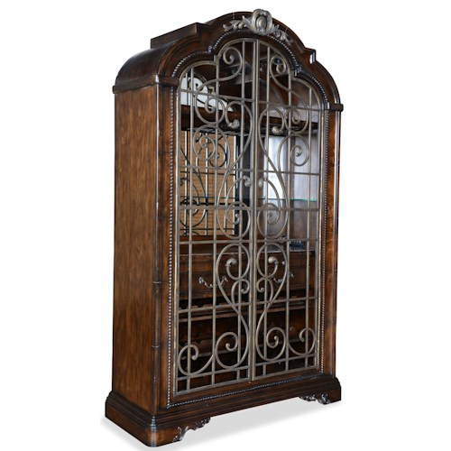 A.R.T. Furniture Inc Valencia Wine Cabinet with Internal Lighting