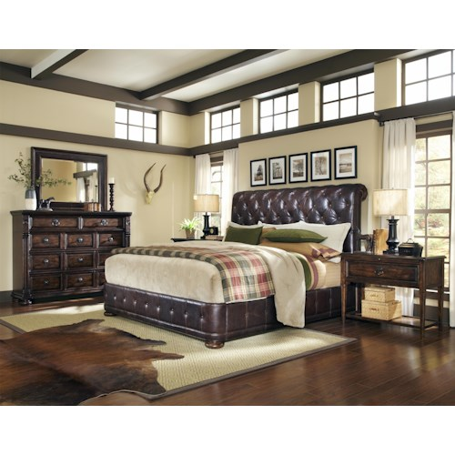 Belfort Signature Belvedere Queen Bedroom Group