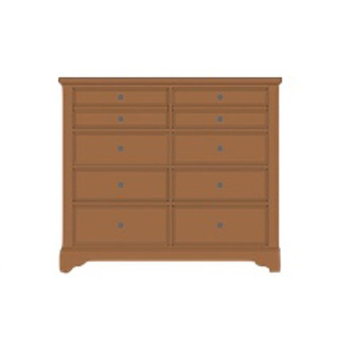 Artisan & Post Artisan Choices Solid Wood Villa Media Dresser - 8 Drawers