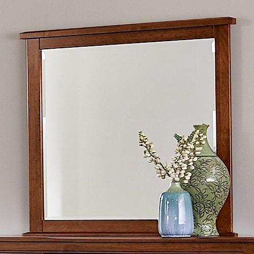 Artisan & Post by Vaughan Bassett Artisan Choices Loft Tall Landscape Mirror