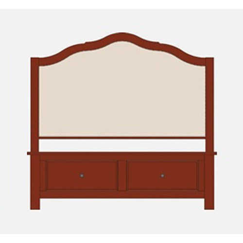 Artisan & Post by Vaughan Bassett Artisan Choices King Upholstered Storage Bed